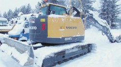 Bandgrävare –Volvo EC145